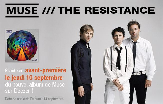 Ecoute en avant-première du nouvel album de Muse